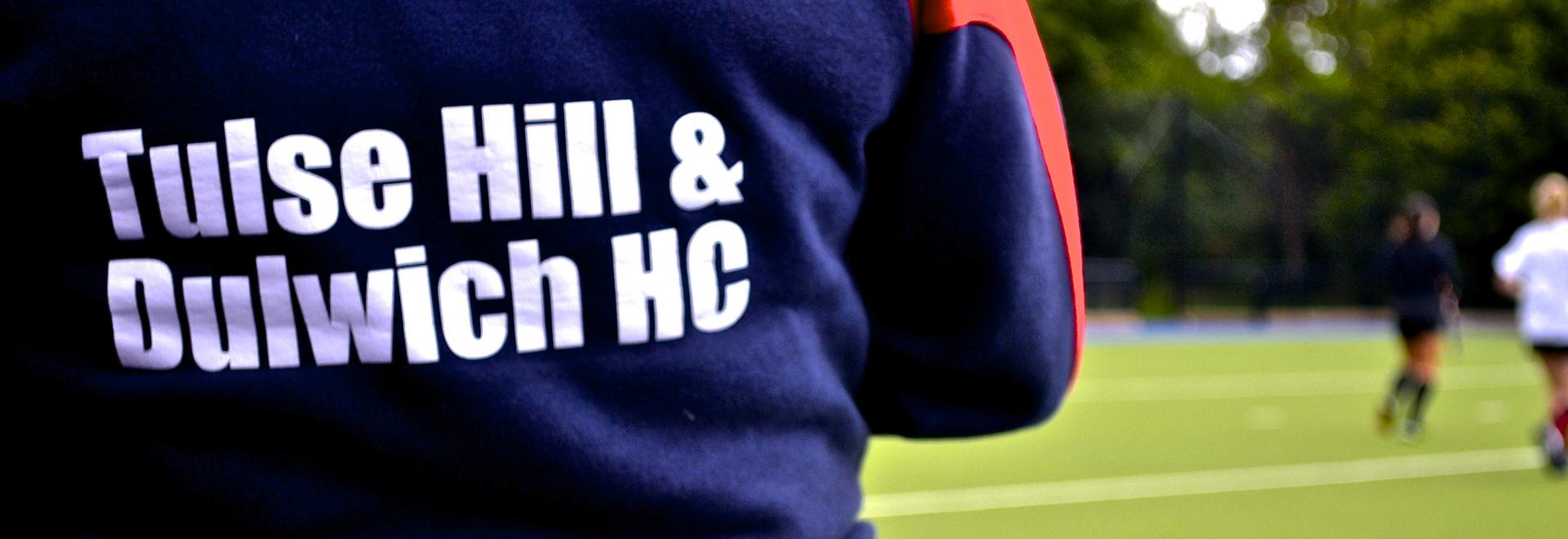 Close up of Tulse Hill hoody